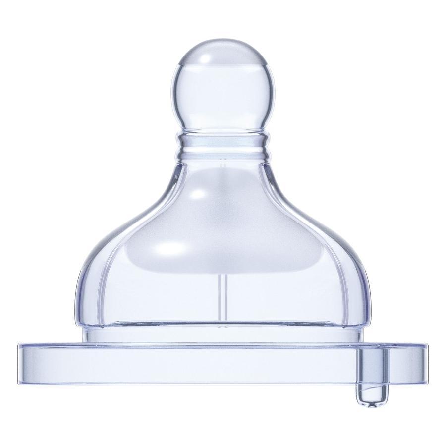CHICCO Tétine physiologique anti-hoquet silicone pour bouillie 4M+