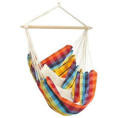 Sitzmöbel - AMAZONAS Hängesessel XL Brasil Rainbow  - Onlineshop Babymarkt