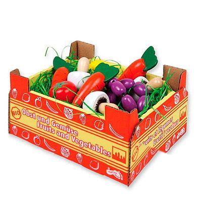small foot ® Stiege mit Gemüse - bunt
