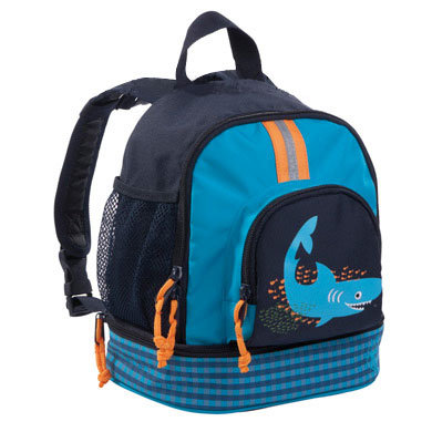 LÄSSIG Mini Rucksack Backpack Shark ocean