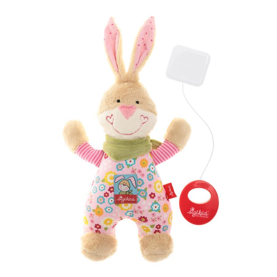 SIGIKID Spieluhr Hase Bungee Bunny, klein