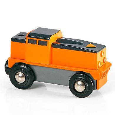 Brio ® WORLD Kleine Frachtlok mit Batterie 33215