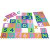 Playshoes EVA Puzzlematte 36-teilig, mehrfarbig