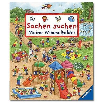 Ravensburger  Sachen suchen Meine Wimmelbilder