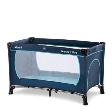 HAUCK Campingbed Dream`n Play Plus Navy-Aqua