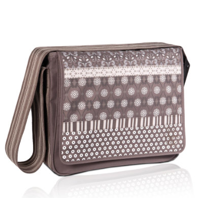 LÄSSIG Skötväska Casual Messenger Bag multimix slate