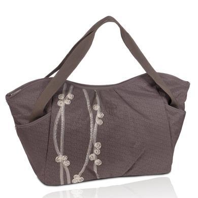 LÄSSIG Luiertas Casual Twin Bag Ribbon Slate