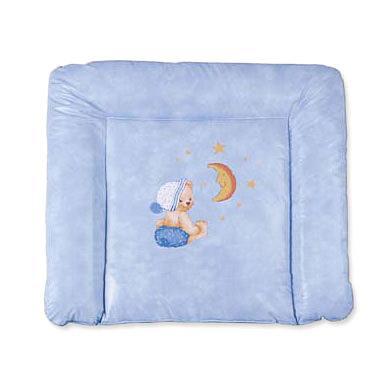 ZÖLLNER Softy Aankleedkussen (Knuffelbeer Blauw)
