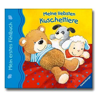 Ravensburger Mein erstes Fühlbuch: Meine liebsten Kuscheltiere