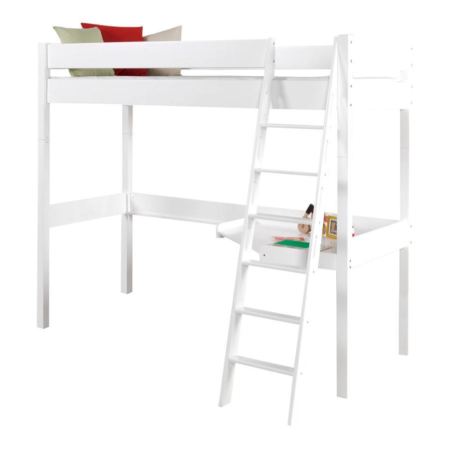 hochbett wei preisvergleich die besten angebote online kaufen. Black Bedroom Furniture Sets. Home Design Ideas