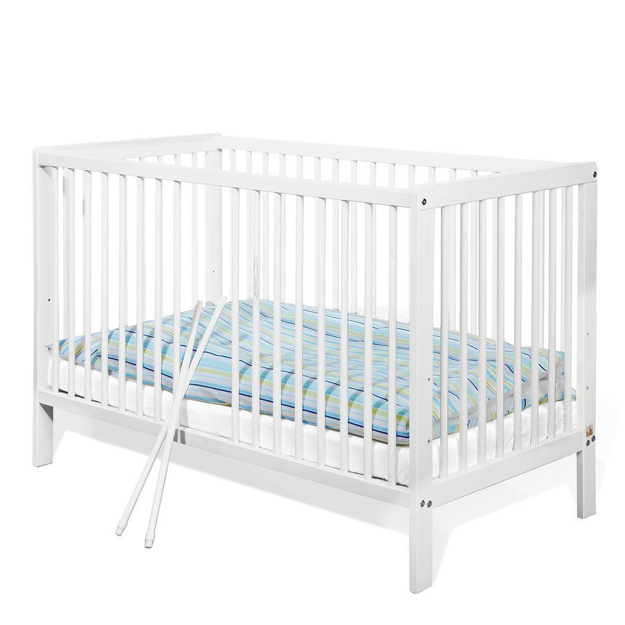 Pinolino Kinderbett Hanna, 60x120 Kiefer weiß