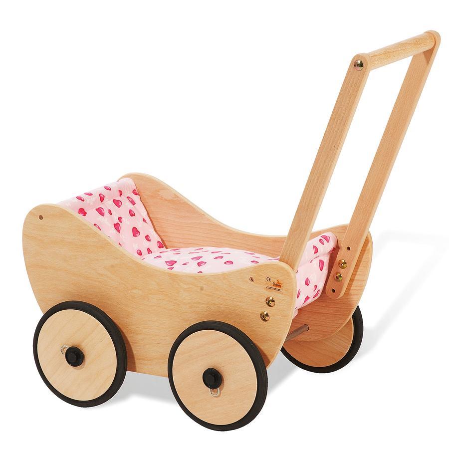 Pinolino Holzpuppenwagen Trixi (Buche) [Kinderspielzeug > Puppenwagen > Holzpuppenwagen]