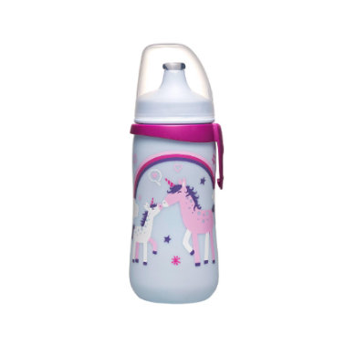 NIP PP Kids Cup Láhev 330ml Family girl s Push-Pull pítkem