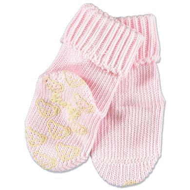STEIFF Girls Baby Skarpetki antypoślizgowe rosé
