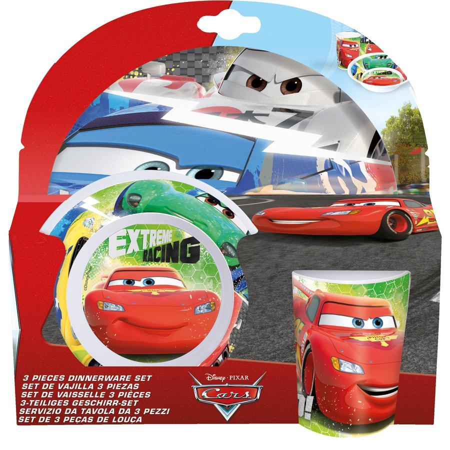P:OS Frühstücksset Cars 3-teilig