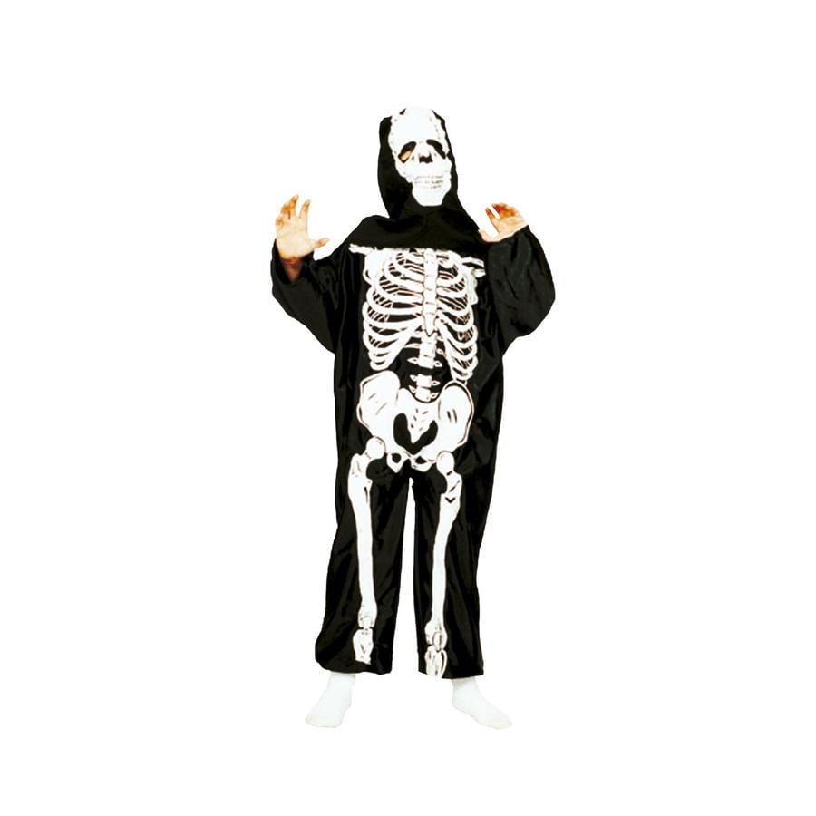 FUNNY FASHION Karneval Kostüm Skeleton