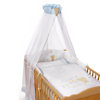 Easy Baby Bedset Honey bear blauw (400-41)