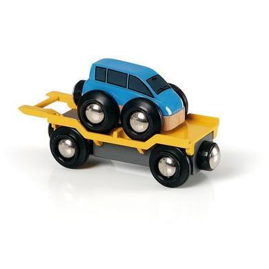 Image of BRIO® WORLD Autotransporter mit Rampe 33577