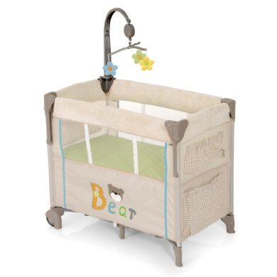 HAUCK Inklapbaar bed Reisbedje Dream 'n Care Center Collectie Bear