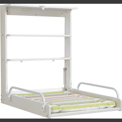 Regale - roba Wandwickelregal Dschungelbaby weiß 79,5 x 63 x 76,5 19 cm  - Onlineshop Babymarkt