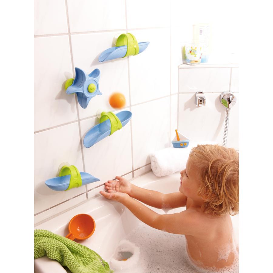 Kugelbahn für die Badewanne