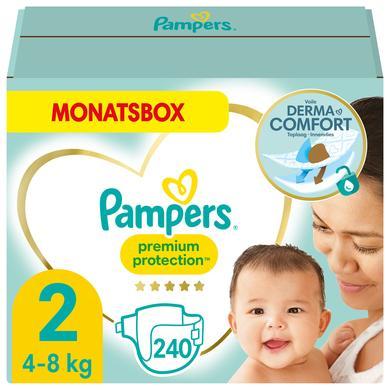 Image of PAMPERS New Baby maat 2 Mini (3-6 kg) Maandbox 240 stuks