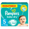 Pampers Baby-Dry T. 5 Junior (11-25 kg) pack mensual 144 unidades