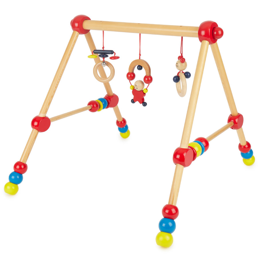 BIECO Baby Holz-Gym, höhenverstellbar