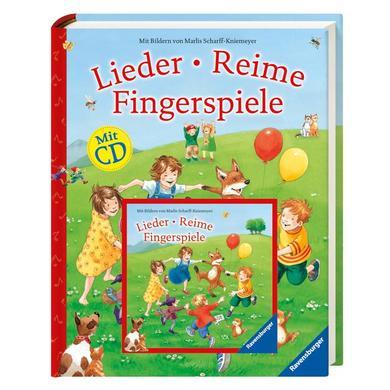 Image of RAVENSBURGER - Lieder, Reime, Fingerspiele (mit CD)