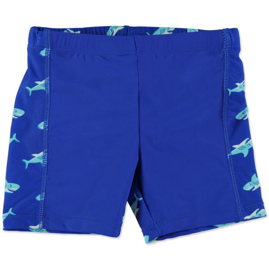 PLAYSHOES Boys UV Schutz Badeshorts HAI marine