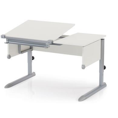 Kindertische - KETTLER Schreibtisch KIDS COMFORT II, Silber Weiß bunt  - Onlineshop Babymarkt