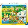 Ravensburger Rahmenpuzzle - Zoobesuch