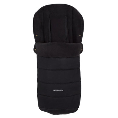 Maclaren Universal Fußsack Black - schwarz