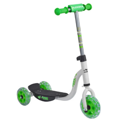 Hudora ® Kiddyscooter joey 3.0, weiß grün 11061