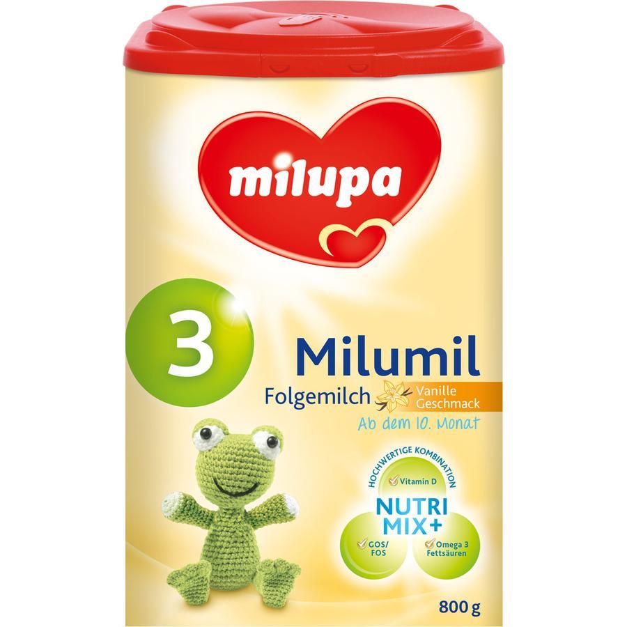 milupa Milumil 3 Folgemilch Vanille 800 g