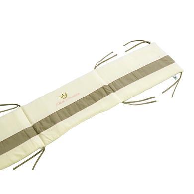 Kindertextilien - Be Be 's Collection Nestchen Kleine Prinzessin Nicki 40 x 190 cm beige  - Onlineshop Babymarkt