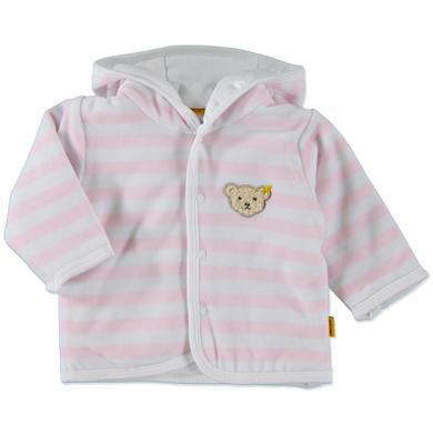 Steiff Girls Baby Nicki Jäckchen Ringel rosé rosa pink Mädchen