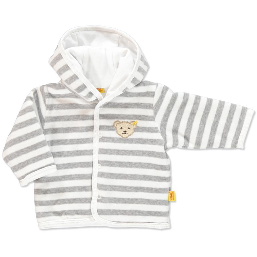 STEIFF Baby Nicki Jacke Ringel softgrey