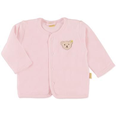 Steiff Girls Baby Nicki Jäckchen barely pink Mädchen