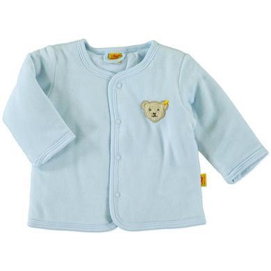 Steiff Boys Baby Nicki Jäckchen baby blue blau Gr.56 Jungen