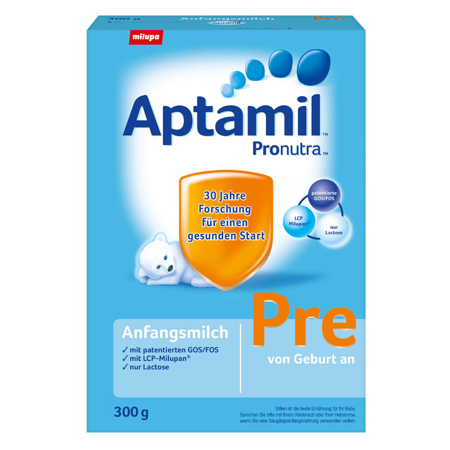 Aptamil Pre Anfangsmilch mit Pronutra Startpackung 300g