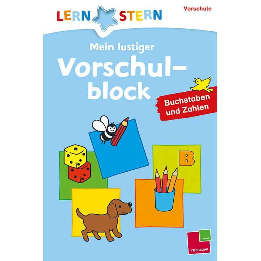 TESSLOFF, Lernstern: Mein lustiger Vorschulblock. Buchstaben und Zahlen