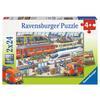 Ravensburger Puzzle - Kjas og mas på stasjonen 2x24 stykker