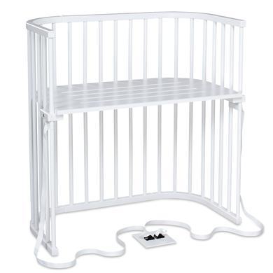 Kinderbetten - babybay Beistellbett Boxspring weiß  - Onlineshop Babymarkt
