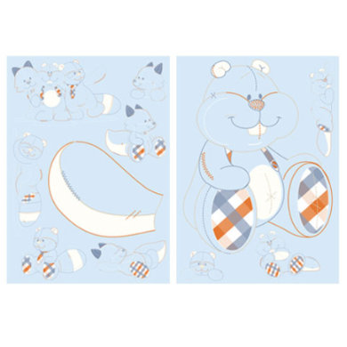 Wanddekoration - noukie's William Henry Deko Aufkleber  - Onlineshop Babymarkt