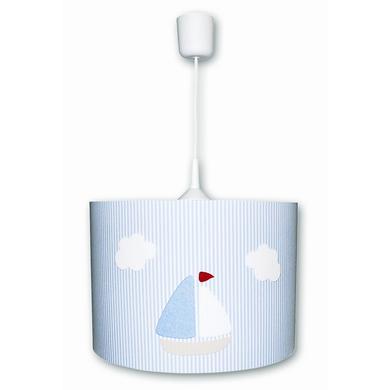 Kinderzimmerlampen - WALDI Pendelleuchte Streiffen, blau 1 flg.  - Onlineshop Babymarkt