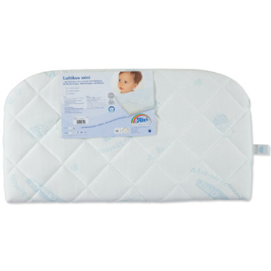 Alvi® Luftikus mini Matratze Dry-Bezug 42 x 80 für Beistellbett abgerundet