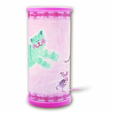 Kinderzimmerlampen - Waldi Tischleuchte DG Cats inkl. Kerze LED 1 flg.  - Onlineshop Babymarkt