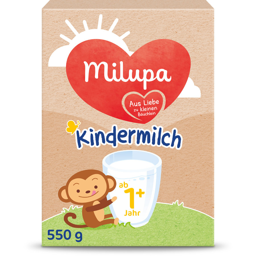 milupa Milumil Kindermilch 1+ 550 g