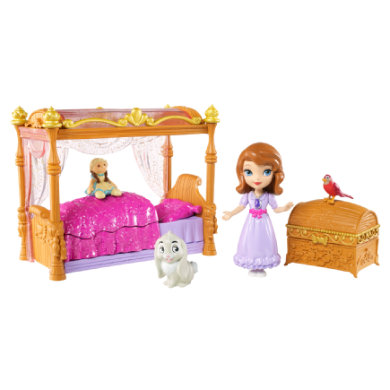 Disney prinses Sofia en koninklijk bed